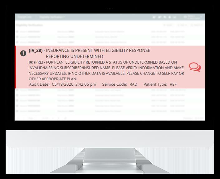 Insurance Eligibility Verification Accureg Software